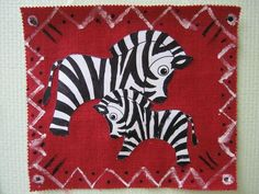 zebres sur tissus