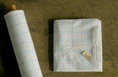 Nesshome Korean Fabric Simple Graph Paper  fat by MissMatatabi, $4.00