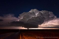 Photo taken of a tornado outside of Pampa Texas during last night's outbreak of storms in the Texas panhandle. - Imgur