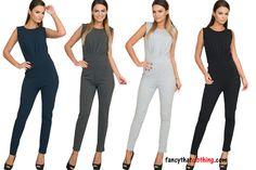 Women s Sleeveless Jumpsuit