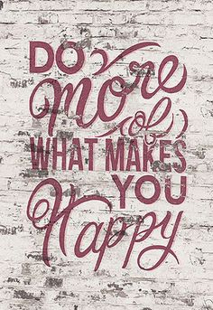 'What Makes You Happy' Metal Wall Art