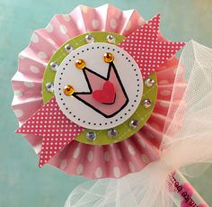 Love this princess wand Cammie King made for her daughter with SRM Magic Wand and Princess Stickers available on www.srmpress.com