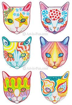 Resultado de imagen de cats drawings