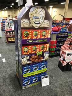 Ritz 'Ghostess Halloween' Free Standing Unit - Looking to get noticed with your point of sale display in a busy, fast-paced retail environment? Increase confidence in your sales with www.popthis.com.au