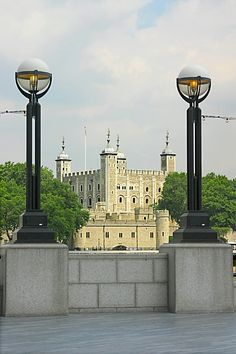 The Tower of London.  England's oldest surviving Royal building.