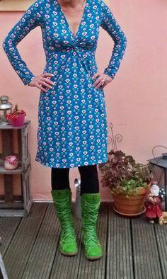 Vera in Blue House: knoop jurk # 3!
