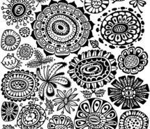 doodlings pour empêcher de tourner en rond