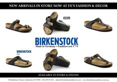 1f0d37e07bc Birkenstock · We re excited to show you our new arrivals! Come in store or  shop