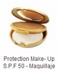 Maquillaje en crema con máximo factor de protección solar. Fresco y ligero. Resistente al agua. Sin Perfume. Acabado aterciopelado PROPIEDADES: •Hidratante. •Anti Radicales Libres. •Pantalla Solar. •Foto-protector.
