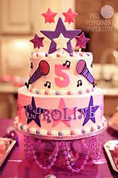 Popstar Cake by For Heaven's Cakes