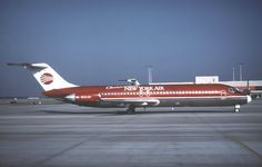 Continental Airlines and New York Air merge, DC-9