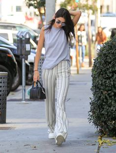 Kendall Jenner is seen out running errands on January 21, 2016.