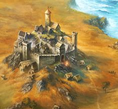Weidhur is a small castle at the northern coast of the Ekaroon sea that lies a bit isolated from the main trade routes in the region.