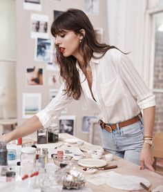 French Fashion, Look Fashion, Girl Fashion, Fashion Outfits, Womens Fashion, Fashion Tips, Artist Style Fashion, Curvy Fashion, Fashion Designers