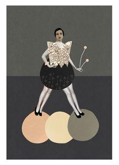 Mathilde Aubier, collage hedonista con tintes escandinavos y años 50