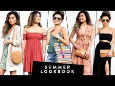 2017 SUMMER Lookbook | Summer Outfit Ideas | Miss Louie - YouTube