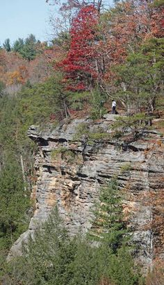 Ohioans can't get enough of the caves, waterfalls and towering sandstone formations that dot the region southeast of Columbus. Outsiders can't believe the Hocking Hills could exist in Ohio.