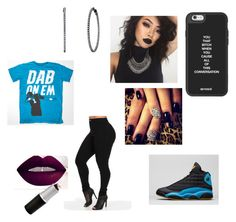"""""""dabb on em' pt. 2"""" by leelee-the ❤ liked on Polyvore featuring NIKE, women's clothing, women, female, woman, misses and juniors"""