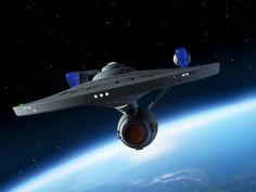 Enterprise from aborted series Star Trek: Phase II Star Trek Characters, Star Trek Movies, Star Trek Enterprise, Star Trek Voyager, Star Trek Logo, Star Wars, Star Trek Wallpaper, Starfleet Ships, Star Trek Captains