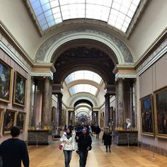 https://flic.kr/p/qPcf9M | Some of the halls in the Louvre feel like they go on for miles! #upsticksandgo #louvre #paris #art #architecture #france #travel #travelgram #travellingtheworld #michfrost