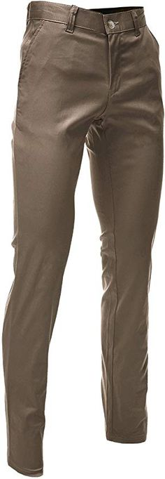 FLATSEVEN Mens Slim Fit Chino Pants Trouser Premium Cotton at Amazon Men's Clothing store