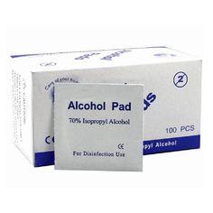 المحمولة مفيدة 100 قطعة/صندوق مسحات منصات مناديل المطهر تعقيم 70% الآيزوبروبيل الكحول الإسعافات الأولية المنزلية