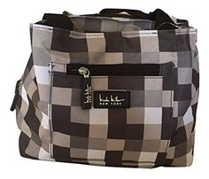 Nanette Lepore Insulated Lunch Bag Tote With Three Inserts