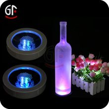 New Products For 2016 Hot Sale China Gift Items Weight Sensitive led coaster - search result, Shenzhen Great-Favonian Electronics Co., Ltd.