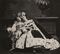 Pierre-Louis Pierson Countess de Castiglione and Her Son