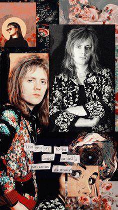 """Wallpaper inspired in rock band """"Queen"""" (Roger Taylor) Ben Hardy, John Deacon, Queen Banda, Queen Aesthetic, Roger Taylor Queen, Queens Wallpaper, Band Wallpapers, Queen Photos, Fanart"""