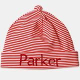 Candy Striped Red and White Infant and Newborn Beanie - Personalized