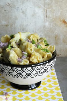 Artichoke Pasta with Butter, Lemon and Garlic