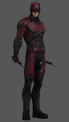 Daredevil digital render