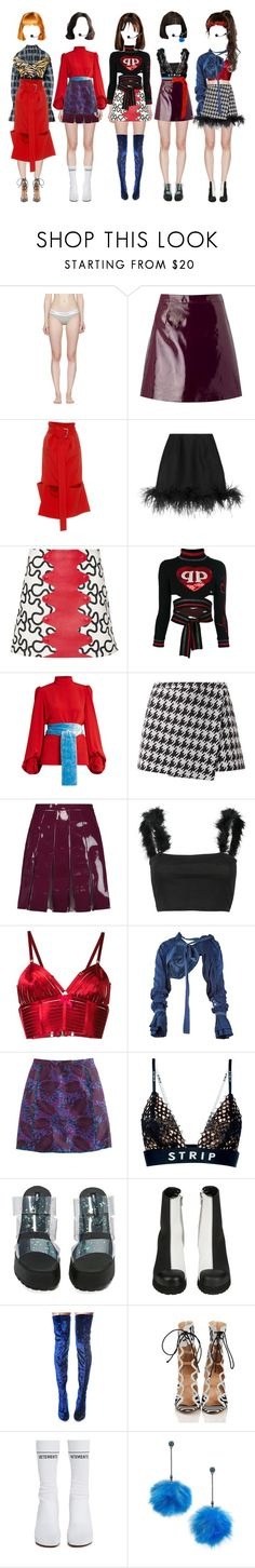 """""""{ PULP } Wild Style - Performing @ MCountdown"""" by vxxo ❤ liked on Polyvore featuring Calvin Klein Underwear, Miss Selfridge, Marni, Lanvin, J.W. Anderson, Philipp Plein, Hillier Bartley, Valentino, WithChic and Bordelle"""