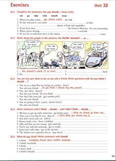 Unit 32 English Grammar Book, English Sentences, English Writing, English Class, English Lessons, English Words, English Vocabulary, English Teaching Materials, English Teaching Resources