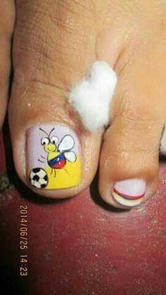 Manicure Y Pedicure, Toe Nails, Hair Beauty, Erika, Patriots, Work Nails, Toe Nail Art, Tribal Nails, Kid Nails
