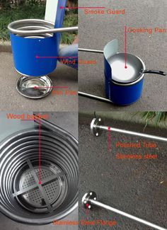 Stainless Steel Coil Heat Exchanger for dutch tub,Wood fired hot tub heater…