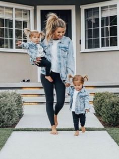So cute little's fashion future mom, kids outfits, baby gir Fashion Kids, Baby Girl Fashion, Mommy Fashion, Toddler Fashion, Babies Fashion, Fall Fashion, Womens Fashion, Fashion Trends, Mother Daughter Matching Outfits