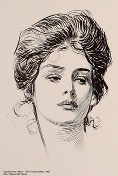 "Charles Dana Gibson's Book ""The Social Ladder"" 