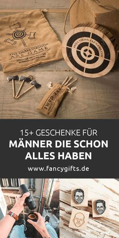 47 original gifts for men who have everything- 47 originelle Geschenke für Männer, die schon alles haben The best gifts for men who already have everything. Let yourself be inspired by these original gift ideas! Diy Gifts For Christmas, Xmas, Holiday Break, Best Gifts For Men, Men Gifts, Gift For Men, Original Gifts, Business Gifts, Your Best Friend