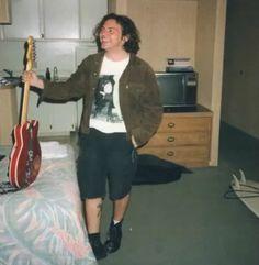 "Your hall pass to Eddie Vedder & the Eddie Vedder edition of ""hey girl"" Mookie Blaylock, Pearl Jam Posters, Mister Ed, Matt Cameron, Pearl Jam Eddie Vedder, He Makes Me Smile, Celebrity Skin, Happy Fun, Hey Girl"