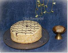 Gizi-receptjei. Várok mindenkit.: Eszterházy-torta. Cake, Food, Kuchen, Essen, Meals, Torte, Cookies, Yemek, Cheeseburger Paradise Pie