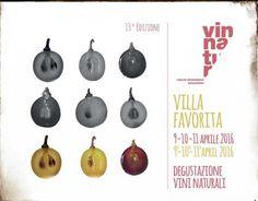 VinNatur 9 - 11 aprile 2016 - Villa Favorita http://intothewine.org/2016/04/08/vinnatur-9-11-aprile-2016-villa-favorita/