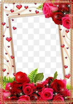 Mood Frame Pictures Free Watercolor Flowers Rose Frame Flower Png Images