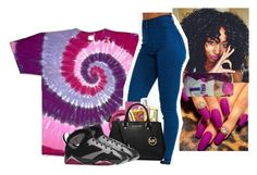 """Untitled #154"" by kiatheplugg ❤ liked on Polyvore featuring Urbanears, MICHAEL Michael Kors and NIKE"
