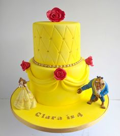 Beauty and the Beast birthday cake!