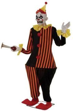 Animated Halloween Clown Prop