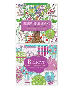 Look at this #zulilyfind! Believe in Yourself & Follow Your Dreams Coloring Book #zulilyfinds