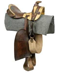 CIVIL WAR CONFEDERATE TEXAS-HOPE SADDLE