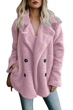 Shop a great selection of Dcharme Womens Fuzzy Fleece Jacket Open Front Cardigan Outwear Coat Pockets. Find new offer and Similar products for Dcharme Womens Fuzzy Fleece Jacket Open Front Cardigan Outwear Coat Pockets. Warm Jackets For Women, Winter Coats Women, Coats For Women, Clothes For Women, England Mode, Long Faux Fur Coat, Winter Mode, Fall Winter, Coats